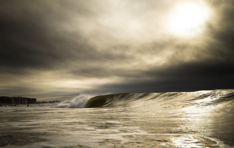 An empty left in Long Beach, NY. Photo: Christor Lukasiewicz