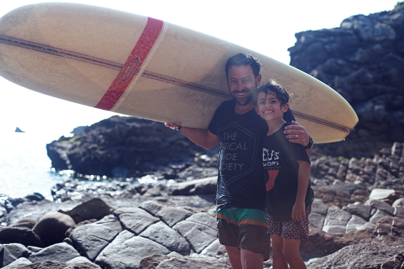 Nathan and Noa Oldfield. Basque Country. Photo: Iker Trevino