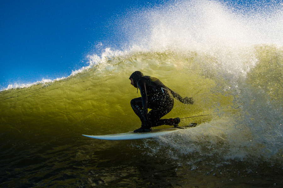 """Look deep into nature, and then you will understand everything better."""" — Albert Einstein (Surfer: Mike Hughes)"""