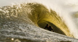 """The more you live in the present moment, the more the fear of death disappears."" -Eckhart Tolle. Surfer: Mike Hughes"