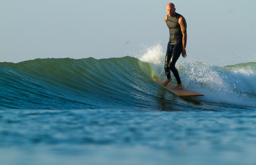 Take out a longboard and knee high peelers have never been so much fun. Enjoy! Photo: Christor Lukasiewicz