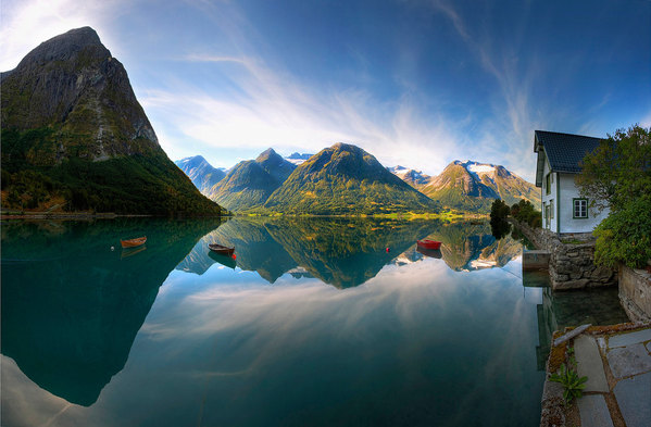 "Norway, great scenery and ""Freedom to Roam'.  Courtesy: Unknown."