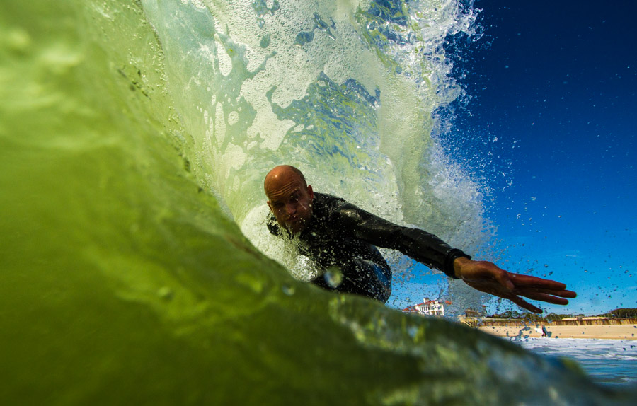 """Your deepest roots are in nature.  No matter who you are, where you live, or what kind of life you lead, you remain irrevocably linked with the rest of creation.""  --Charles Cook. Surfer: Shawn Zappo"