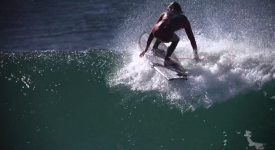Mikey Wright going finless
