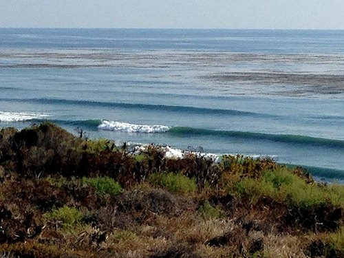 North County Santa Barbara began seeing the swell early afternoon Tuesday 8/26